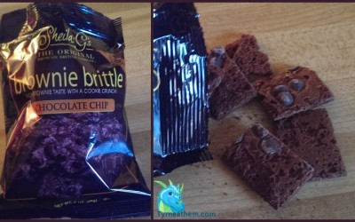 {Review} Sheila G's Brownie Brittle ~ Chocolate Chip