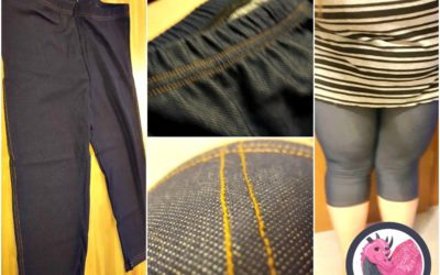 LANFEI Women's Plus Size Capri Leggings Review