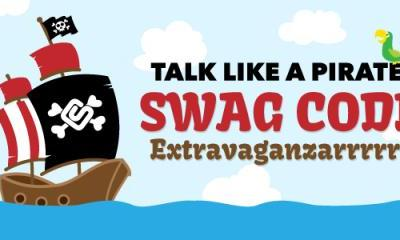 Talk Like a Pirate Swag Code Extravaganza Tomorrow
