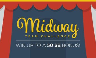 Midway Team Challenge on Swagbucks