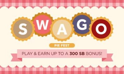 Swagbucks' Swago Pie Fest