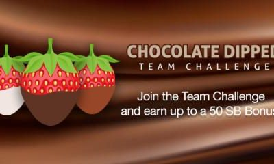 Chocolate Dipped Team Challenge (US & Canada) at Swagbucks