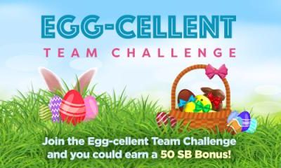 Swagbucks' Egg-cellent Team Challenge