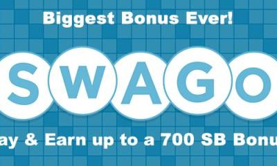 April Swago is here! 700 SB Bonus at Swagbucks!