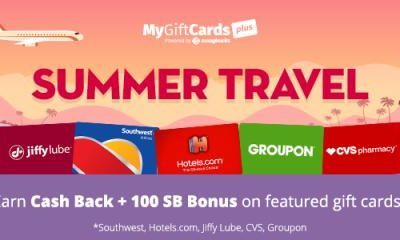 MyGiftCardsPlus Summer Travel Promotion