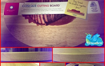 {Holiday Gift Guide Review} Architec Concave Cutting Board