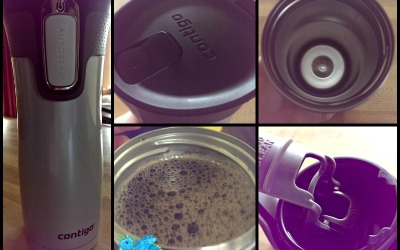 A #HolidayGiftGuide #review! Travel in AUTOSEAL® style with Contigo's West Loop stainless steel mug!