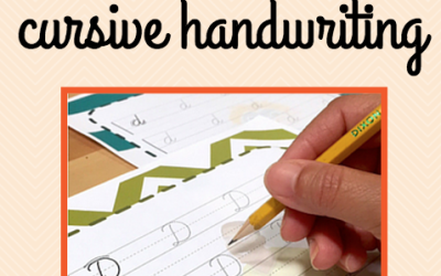 {Back to School} The Pros & Cons of Cursive Handwriting