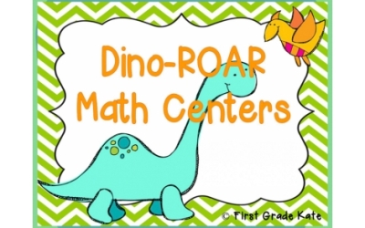 Grab a dino-riffic Educents #math #freebie for K-2! Get it before it's gone!