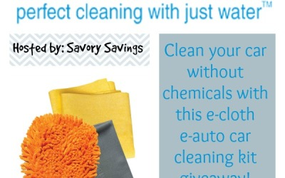 Clean your car the #ecofriendly way! Enter our #giveaway to #win an e-cloth car cleaning kit! (Ends Oct. 2)