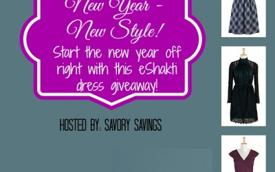 New Year New Style #giveaway! Enter to #win a dress of your choice from eShakti! (Ends Dec 16)