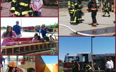 A Day of Fun & Fire Safety With Our Local Fire Department