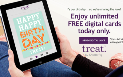 QUICK! Don't Miss this! Unlimited #free digital cards from Treat!