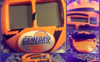 {Holiday Gift Guide Review} GameDay Scoreboard