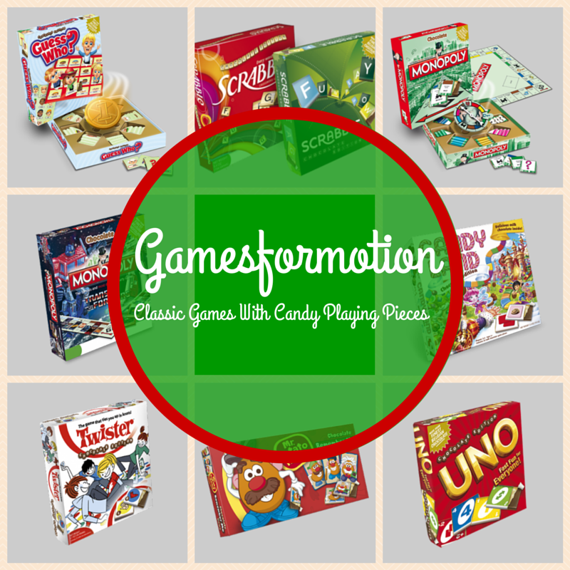 {Holiday Gift Guide Review} Gamesformotion Classic Games with Candy
