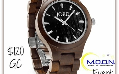 {Giveaway} Wood you Know the Time? featuring JORD Watches Ends December 15th. Open to US residents ages 18+ only. $120 value.