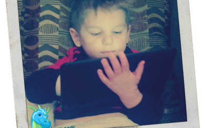 {Through My Lens} The Kid & the Kindle