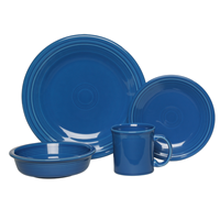 {Review} Fiesta® Dinnerware ~ Introducing Lapis