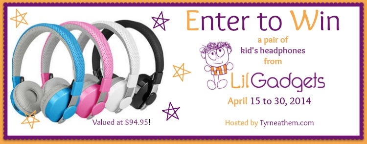Enter the Lil' Gadgets Wireless Bluetooth Kid's Headphones Giveaway. Ends 4/30.