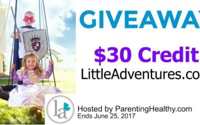 $30 Little Adventures Shop Credit Giveaway (Congrats, N!)
