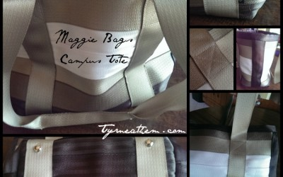 {Review} Maggie Bags Campus Tote in Sand Mirrored Combo