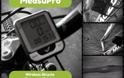 Speedometer, timer, odometer, calorie tracker & HRM all in 1 little wireless device for your bike! Read my #review of MeasuPro Wireless Bicycle Computer!