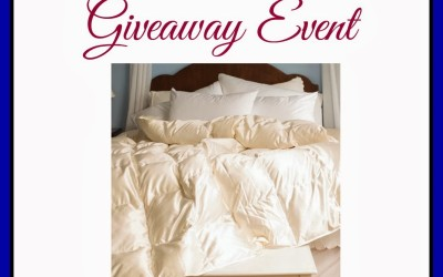 {Giveaway} White Mountain Textile Bedding Gift Cards ~ 3 Winners will receive cards valued at $100 to $250 (Mar 1 to 31/ WW)
