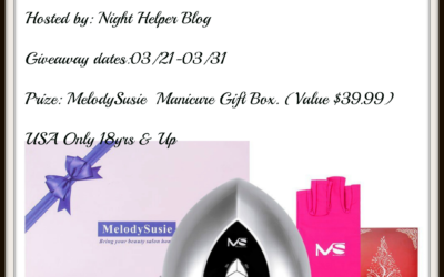 MelodySusie Manicure Gift Box Giveaway (Winner to be Announced)