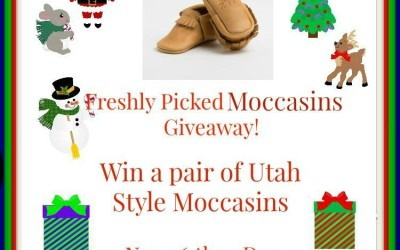 {Giveaway} Pair of Freshly Picked Moccasins ♥ Did you win? Ends December 7th. Open to Continental US residents ages 18+ only.