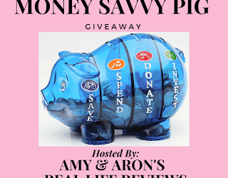 Money Savvy Pig Piggy Bank Giveaway (Congrats, Jessica!)