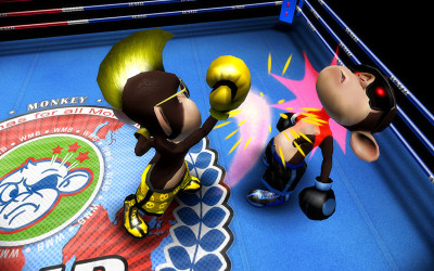 Boxing with Monkeys. Need I say more? Oh, the #app is #free today only!