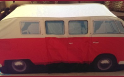 {Review} The Monster Factory 1965 VW Camper Van Play Tent