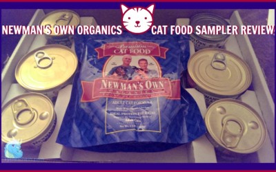{Review} Newman's Own Organics ~ Cat Food Products