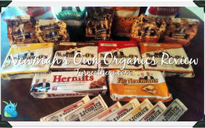 {Review} Newman's Own Organics Pretzels, Licorice & Cookies