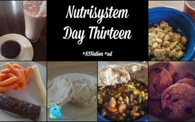 Nutrisystem Day Thirteen