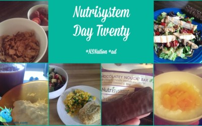 {Nutrisystem Nation} Day Twenty