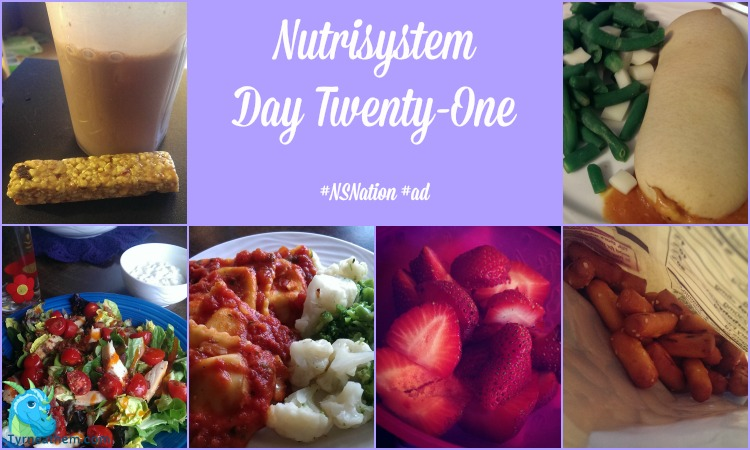 {Nutrisystem Nation} Day Twenty-One