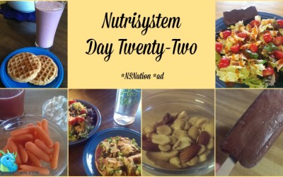 Nutrisystem Day Twenty-Two