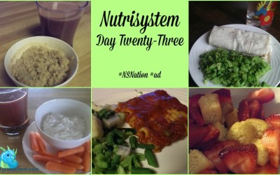 {Losing It} Nutrisystem Day Twenty-Three