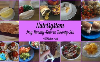 {Losing It} Nutrisystem Day Twenty-Four to Twenty-Six