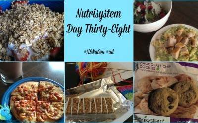 Nutrisystem Day Thirty-Eight