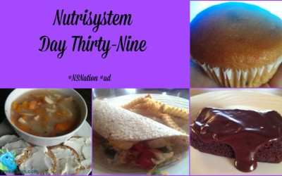 Nutrisystem Day Thirty-Nine