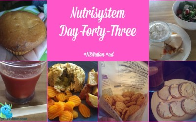 Nutrisystem Day Forty-Three