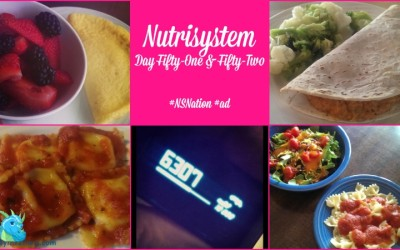 Nutrisystem Day Fifty-One & Fifty-Two