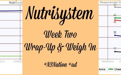 Nutrisystem Week Two Wrap-Up & Weigh In