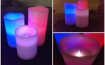 {Review} Ohuhu Flameless Color-Changing Candles