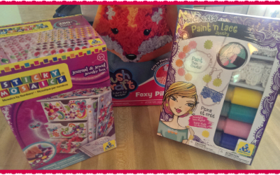 {Review} Orb Factory Plush Craft, Sticky Mosaics, & Imaginista