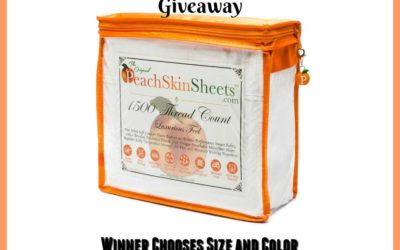 Summer PeachSkinSheets Giveaway (Winner to be Announced)