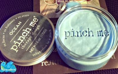 Pinch away the stress and relax with drug-free Pinch Me Therapy Dough! #review