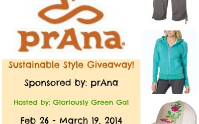 {Giveaway} Sustainable Style ~ Top, Bottom & Accessory of Winner's Choice from prAna (Feb 26 to Mar 19/ US Only)